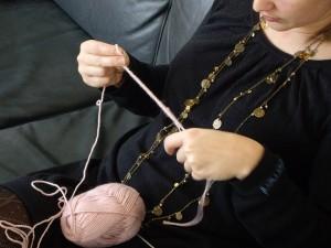 Claire tricote