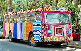 bus en tricot