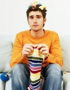 Le bien-être mental Homme-tricote-233x300