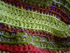 selle fluo au crochet