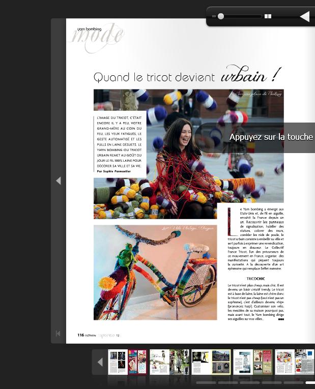 un article dans actives magazine la classe rock my laine. Black Bedroom Furniture Sets. Home Design Ideas