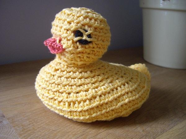 mylaine canard crochet