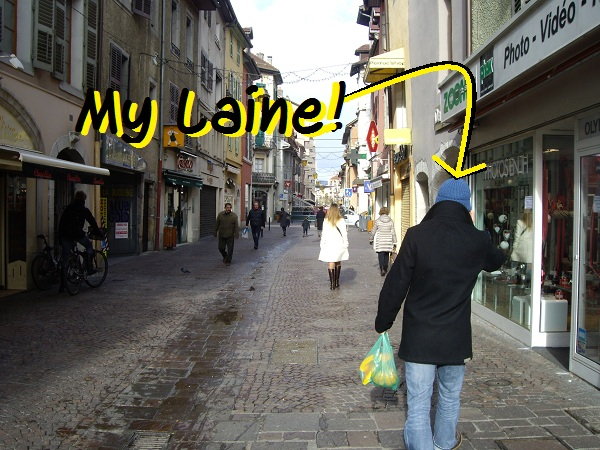 Made in annecy rock my laine for La fourchette annecy