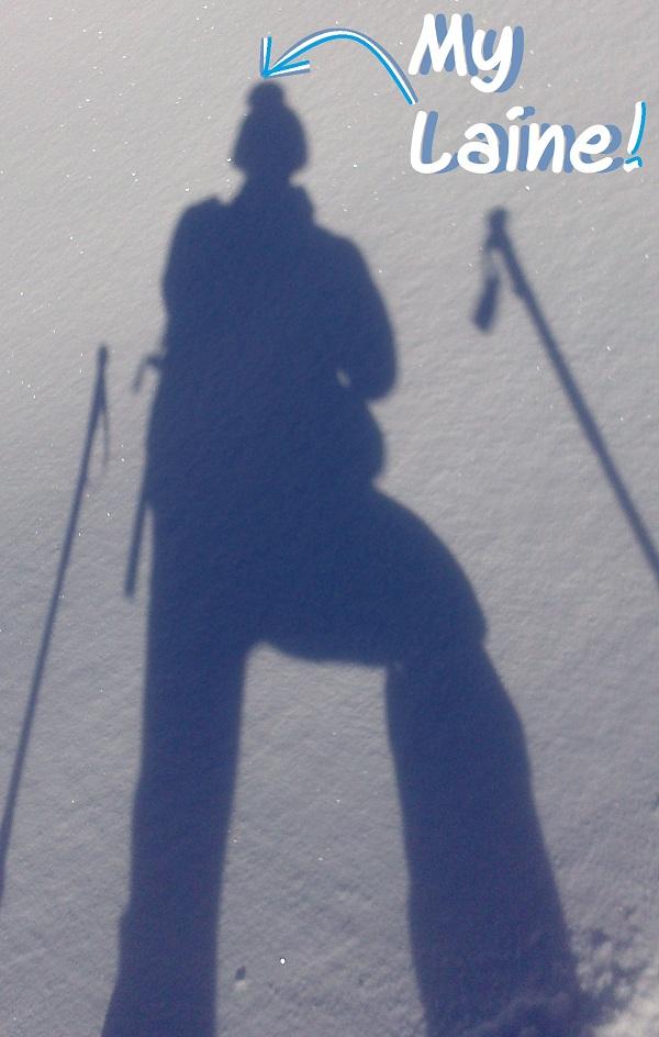My Laine au ski