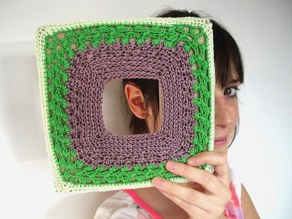 cadre crochet my laine