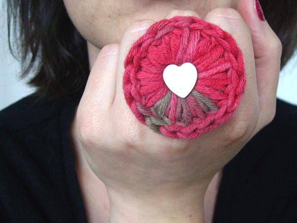 bague au crochet my laine