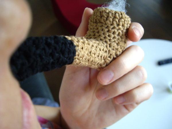 pipe au crochet