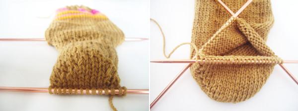 Les chaussettes rock my laine - Comment tricoter des chaussettes en laine ...