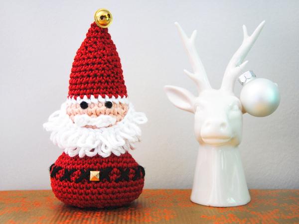 Mon p re no l amigurumi rock my laine - Sujets de noel au crochet gratuit ...