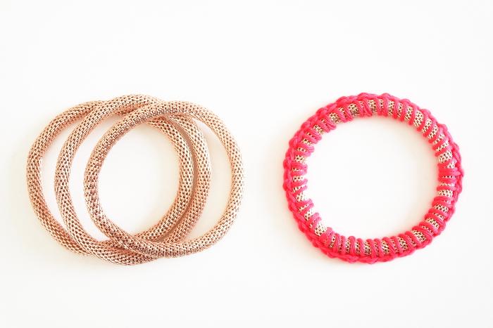 bracelets relookés