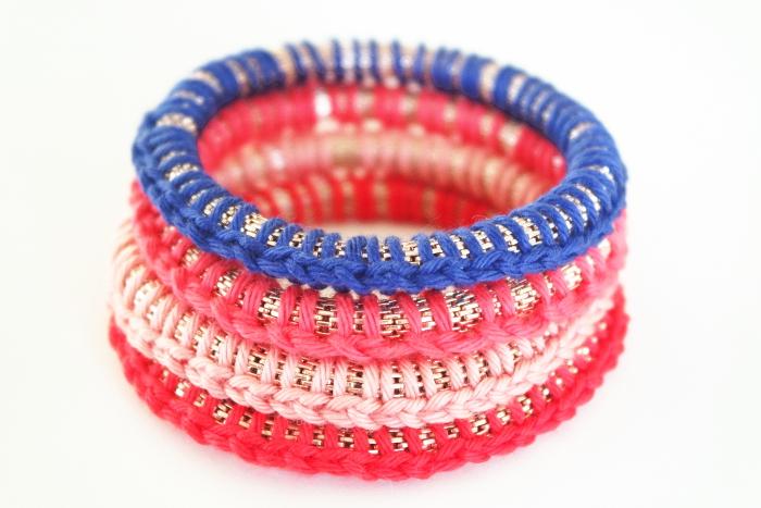 bracelets printaniers