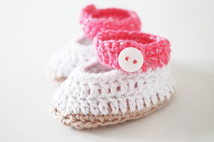 chaussons crochet nourrissons