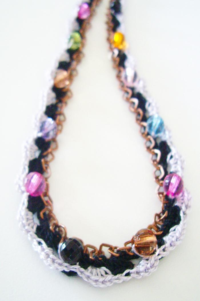 collier sautoir crochet et perles2