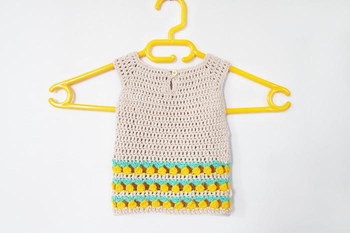 robe bébé ananas