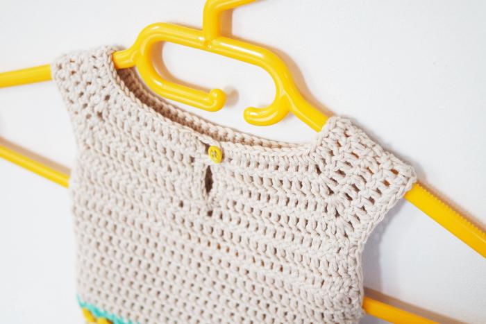bébé robe crochet