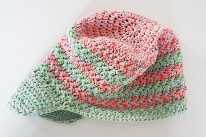 casquette crochet