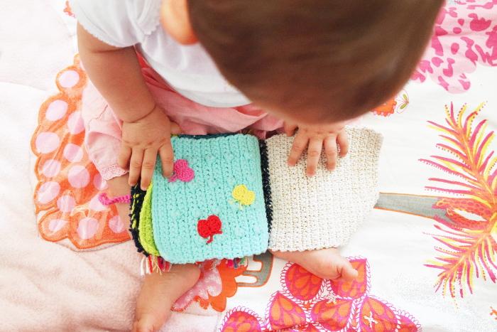 livre au crochet pour bébé