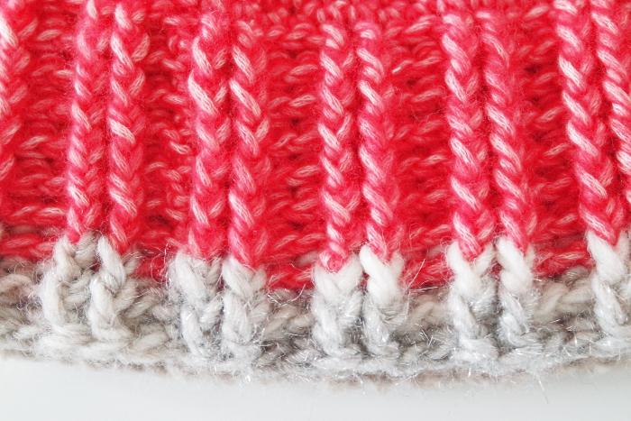 bonnet rouge bébé crochet