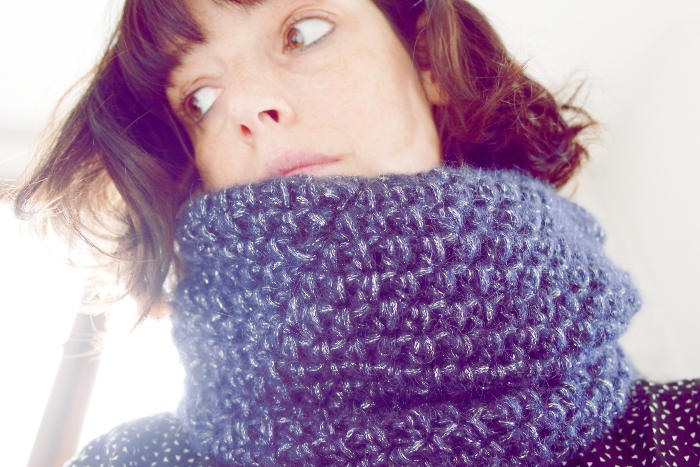 snood crochet