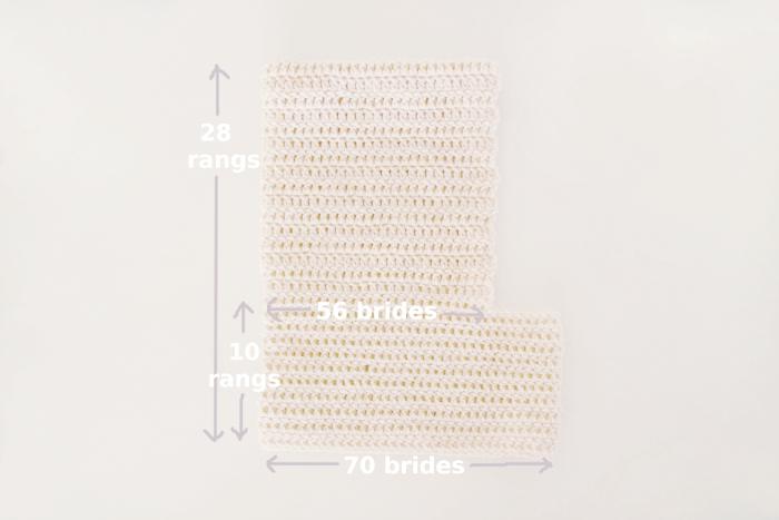 capuchon tout en brides