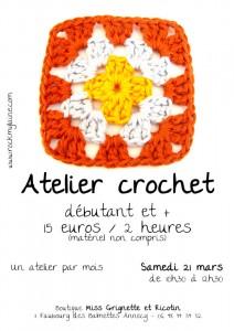 Atelier crochet de mars